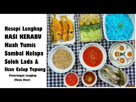 Cara Buat Nasi Kerabu Mudah Dan Sedap Resepi Nasi Kerabu Tumis Nasi Kerabu Kelantan Lina Pg Youtube Nasi Kerabu Rice Kelantan