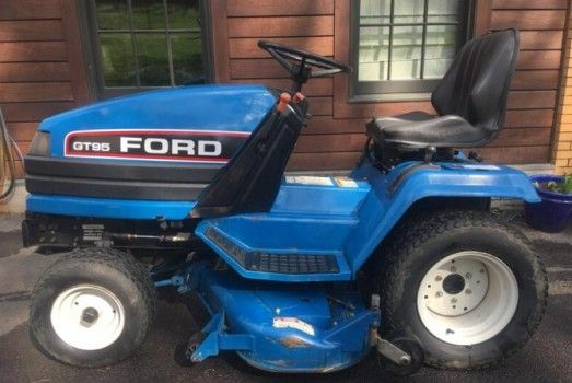 Free Ford New Holland Gt65 And Gt75 Diesel Garden Tractor Service