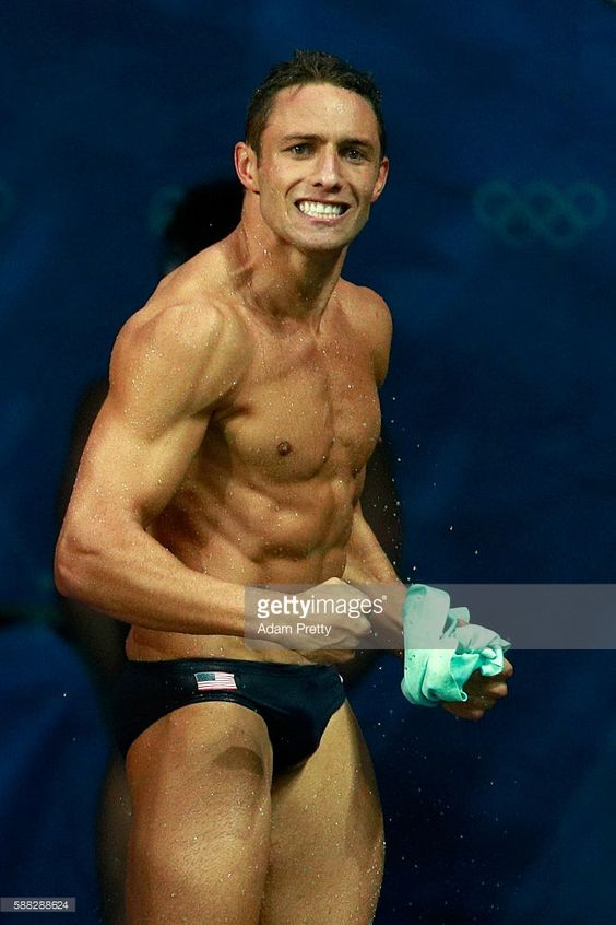 Sam Dorman of the United States celebrates in the Men's Diving Synchronised 3m Springboard Final on Day 5 of the Rio 2016 Olympic Games at Maria Lenk Aquatics Centre on August 10, 2016 in Rio de Janeiro, Brazil.  (682×1024)