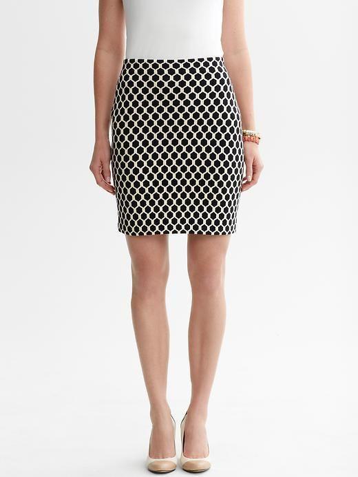 Honeycomb Sweater Skirt