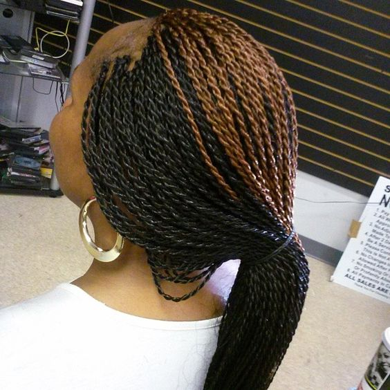 Senegalese twist #conteh_hair_braiding *Braids & Thangs* Pinterest ...
