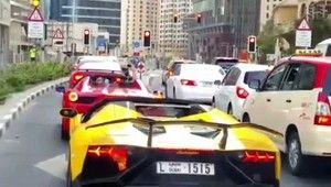 Galdino Saquarema 1ª Página: Lamborghini pega fogo em Dubai