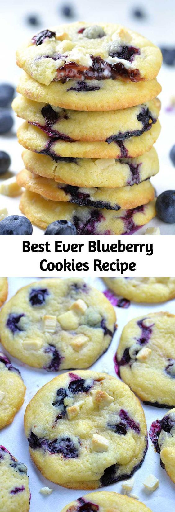 Best Ever Blueberry Cookies Recipe
