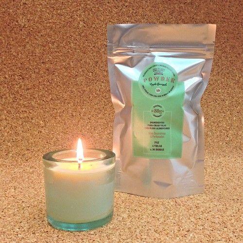 Recambio para hacer velas ecológicas - Manzana Gourmet | Hacer velas
