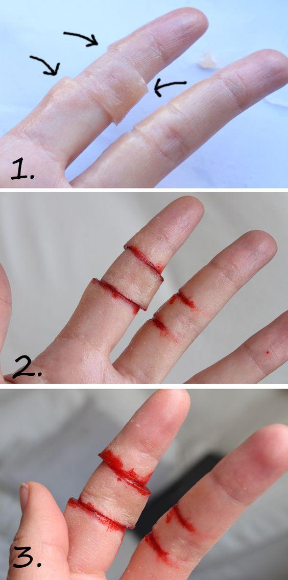 – I CUT MY FINGER! ( varning för blod! ) | Helen Torsgården – Hiilens sminkblogg: