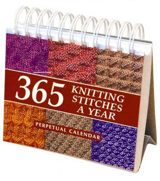 365 Knitting Stitches Calendar Knitting Stitches, Knitting and Each Day