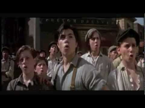 Newsies.  Every day they shufflin.