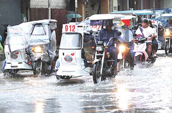 Habagat rain mostly in northern central Luzon
