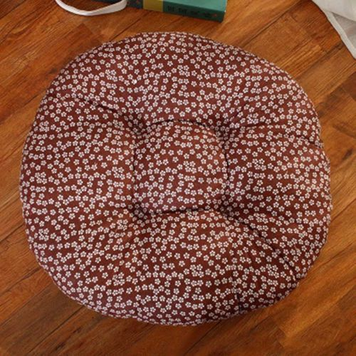 Straw Tatami Mat Padded Seat