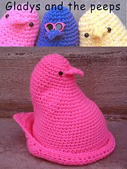 Ravelry: Gladys and the peeps pattern by Heidi Yates