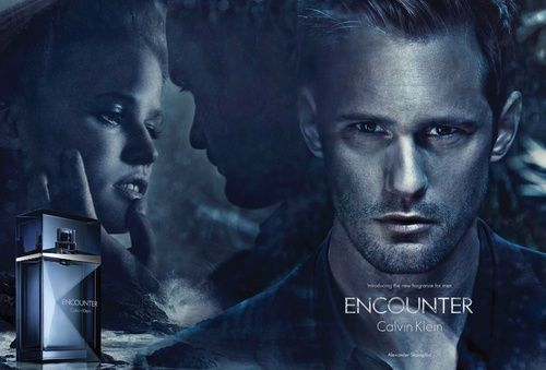 alexander skarsgard as the new face of CK men's fragrance