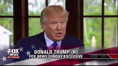 Full Video: Donald Trump Interview with Chris Wallace on Fox News Sunday