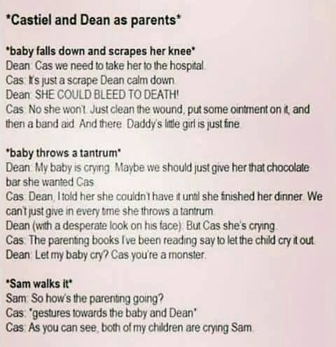 I Feel It Would Be The Other Way Around Because Dean Practically