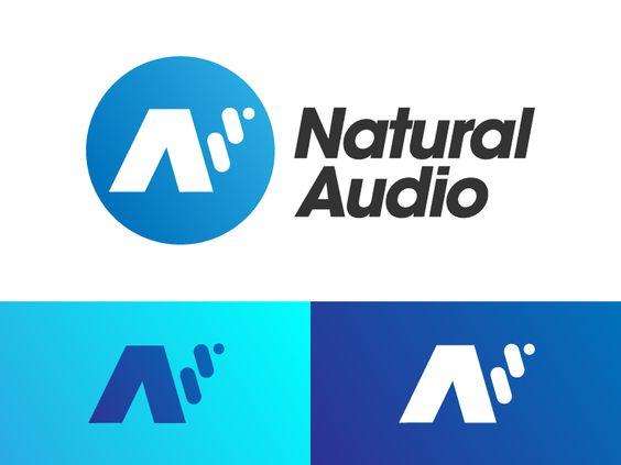 Natural Audio Audio Branding Logo Redesign