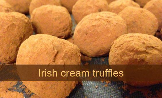 ... christmas christmas ideas and more cream irish truffles irish cream