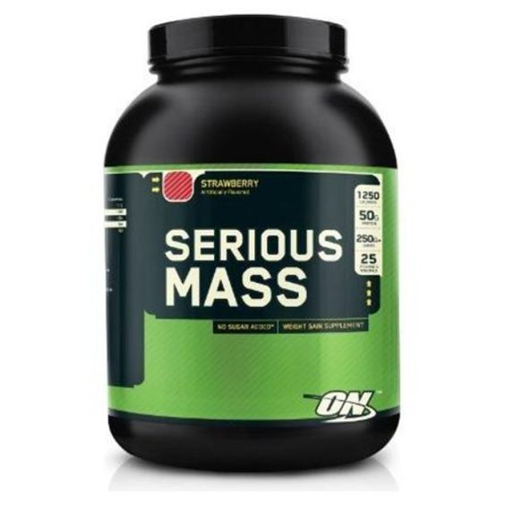 I'm learning all about Optimum Nutrition Serious Mass at @Influenster!