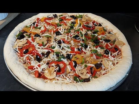 Youtube Food Vegetable Pizza Pizza