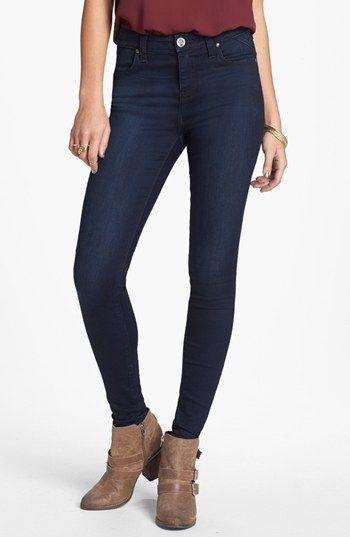 STS Blue High Waist Skinny Jeans (Dark) (Juniors) available at