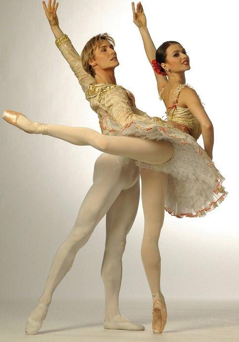Irina Dvorovenko and Maxim Beloserkovsky  Opera and Ballet Theatre of Kiev, American Ballet Theatre
