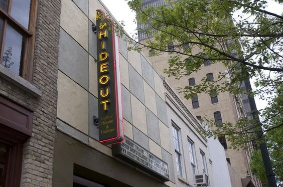 Hideout Theatre on Congress Ave. Improv & coffee