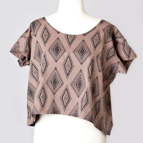 GIVEAWAY for US and Canada residents!  As thanks to my Pinterest fans, everyday this week I will be giving away 1 beautiful item found in my sneakpeeq boutique! Today's giveaway is this crop top by Nooworks.  TO ENTER:  Re-pin this image and by tomorrow morning, May 1st, I will pick one winner and will announce it in a comment on this pin along with instructions on how the winner can claim their prize.  Giveaway ends tonight, April 30, at midnight!