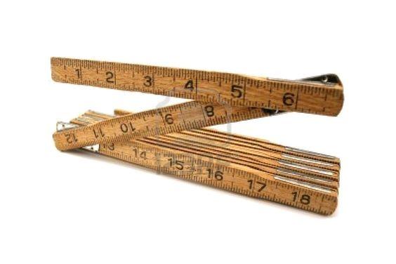 old folding rulers