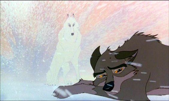 Balto. The white wolf comes.