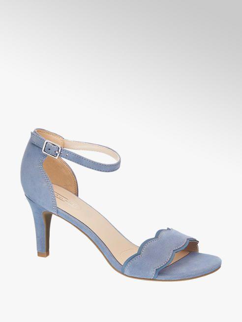 CmDeichmann 90 Leder Blue 5th Avenue 7 Sandalette 39 6 IbvygmYf76