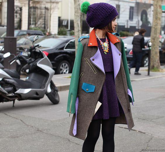 Miroslava Duma #fashion #streetchic #streetstyle #moda #mode