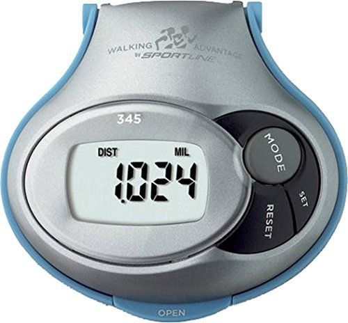 Sportline 345 Pedometer Run Steps Distance Count Calorie Counter Fitness Tracker -- Check out this great product.