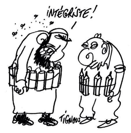 #JeSuisCharlie #CharlieHebdo #Tignous