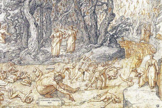 Dante historiato da Federico Zuccar