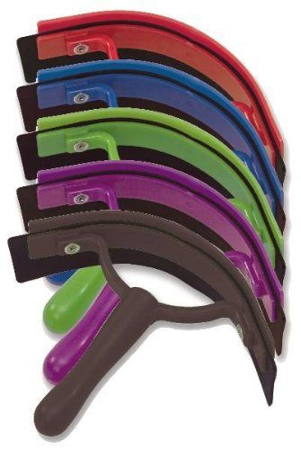 Deluxe Sweat Scraper by Kelley. $3.56. Deluxe Sweat Scraper. High impact plastic, curved rubber squeegee. Black, Forest, Purple, Red, or Royal Blue.