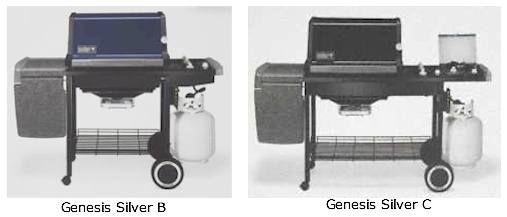 Weber Genesis Silver B Silver C Weber Weber Grill Gas Grill
