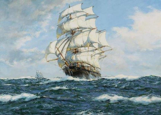 Henry Scott - 'Flying Cloud'