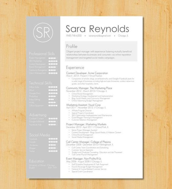 graphic resumes - Google Search Portfolio Pinterest Graphic - header for resume