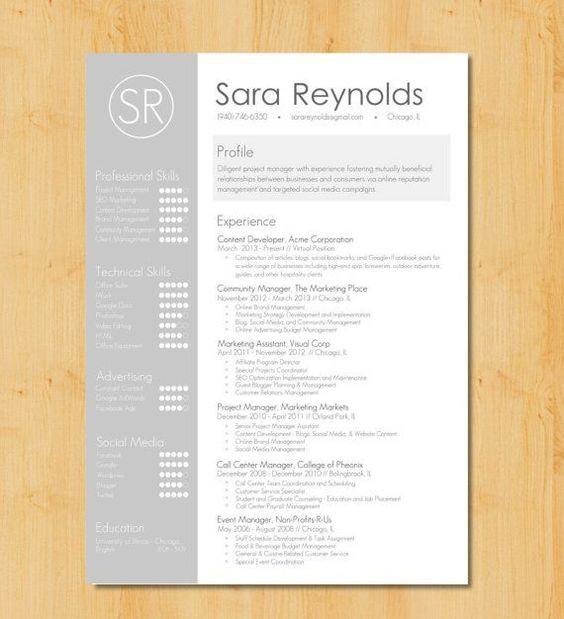 graphic resumes - Google Search Portfolio Pinterest Graphic - header for resume