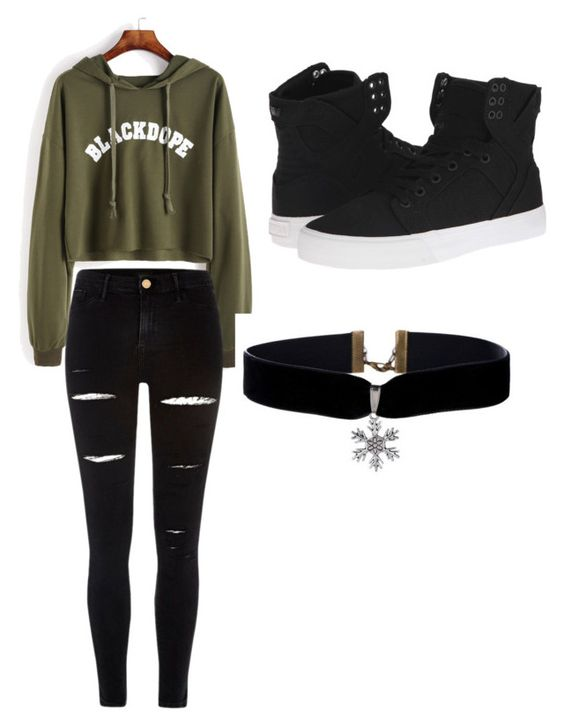 """""""roupa para ir a compras"""" by myllenac-s on Polyvore featuring art"""