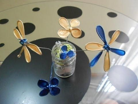 Haz flores con esmalte de uñas. ¡Es muy fácil!