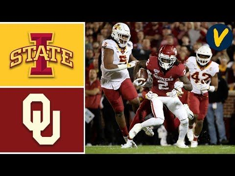 Iowa State Vs 9 Oklahoma Highlights Week 11 College Football 2019 Youtube Iowa State College Football Iowa