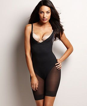 Miraclesuit Extra Firm Open Bust Thigh Slimming Body Shaper 2781 - Lingerie - Women - Macy's