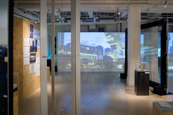Great by Design: British Architecture, Asian Vision.  Installation shot. Photography by Virgile S Bertrand