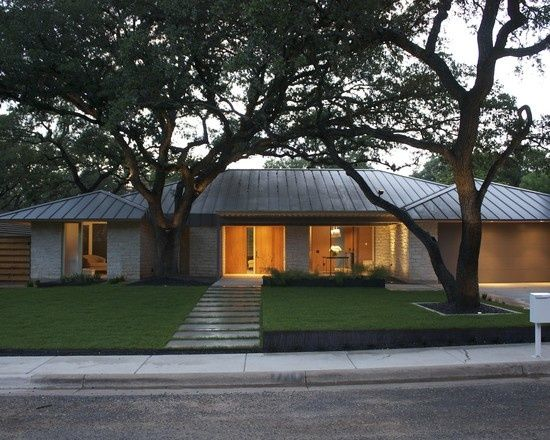 Mid Century Modern Roof Styles House By The Beach