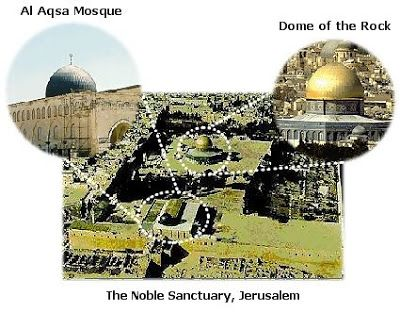 Difference between Al-Aqsa Mosque & Dome of the Rock