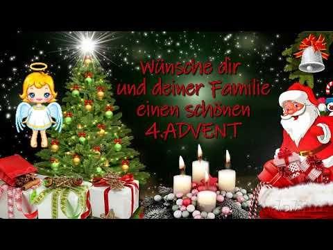Grusse Zum 4 Advent Adventsgrusse Youtube Advents Grusse Adventsgrusse Advent Wunsche