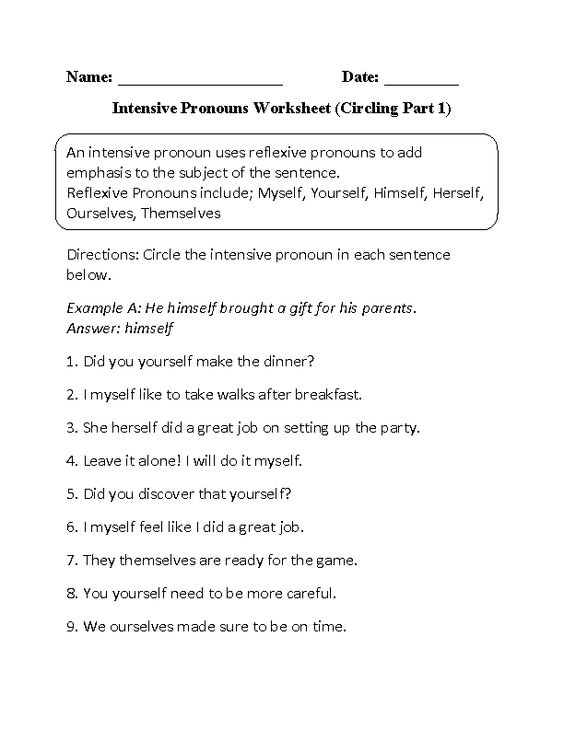 Pronoun Antecedent Agreement Worksheet With Answers – Pronoun Antecedent Agreement Worksheet