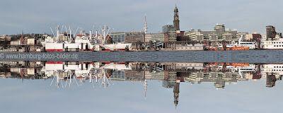 Skyline Hamburg (Hafen, Landungsbrücken, Cap San Diego, Michel, Fernsehturm)