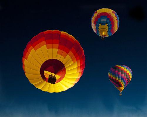 Alburquerque Balloon Fiesta | New Mexico (by John Barclay)