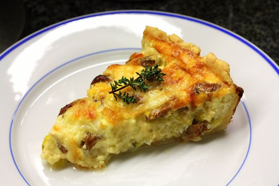 Fresh Local and Best: Rustic Caramelized Onion and Chanterelle Quiche: Mushroom Quiche, Fresh Local, Onion Quiche, Dinner Recipes, Chanterelle Quiche, Favorite Recipes