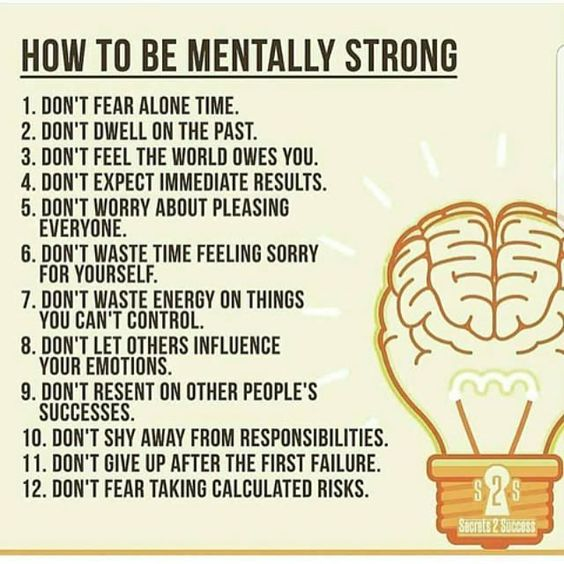 How to Be Mentally Strong